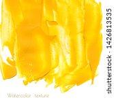 Yellow  Golden Watercolor...