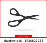 Scissor Icon. Scissors Vector...