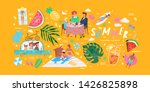 cute vector illustrations of a... | Shutterstock .eps vector #1426825898