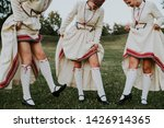 latvian folk dancers in abrenes ... | Shutterstock . vector #1426914365