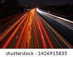 M3 Motorway  Surrey  Uk   June...