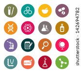 science theme icons | Shutterstock .eps vector #142694782