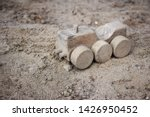 Simple Wooden Digger Toy In A...
