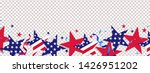 fourth of july background. 4th... | Shutterstock .eps vector #1426951202