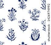 seamless pattern nature set...   Shutterstock .eps vector #1426974992