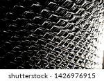 black and white metallic object ...   Shutterstock . vector #1426976915