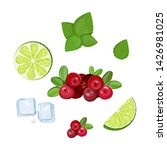 a set of ingredients for making ...   Shutterstock .eps vector #1426981025