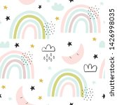 seamless cute pattern for kids  ...   Shutterstock .eps vector #1426998035