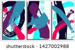 background template with bright ... | Shutterstock .eps vector #1427002988