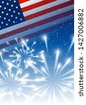 independence day background... | Shutterstock .eps vector #1427006882