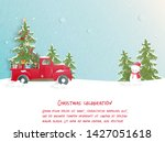 christmas celebrations with... | Shutterstock .eps vector #1427051618