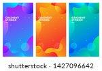 gradient backgrounds....   Shutterstock .eps vector #1427096642