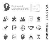 business   marketing related... | Shutterstock .eps vector #142711726