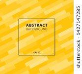 elegant diagonal geometric or... | Shutterstock .eps vector #1427147285