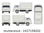 realistic old truck vector... | Shutterstock .eps vector #1427158202