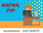 conceptual hand writing showing ... | Shutterstock . vector #1427165075
