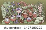 sweets  berries  fruits  drinks ...   Shutterstock .eps vector #1427180222