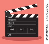 Vector Clapboard For Cinema....