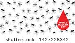 stop malaria no mosquito bite... | Shutterstock .eps vector #1427228342