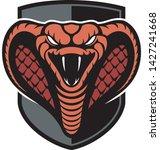 vector cobra snake image ... | Shutterstock .eps vector #1427241668