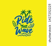 Hand Drawn Lettering Surf...
