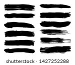 collection of artistic grungy... | Shutterstock . vector #1427252288