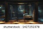 Dark Jail Cell At Night    High ...