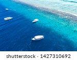 beautiful turquoise ocean water ... | Shutterstock . vector #1427310692