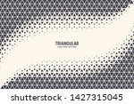 triangle particles halftone...   Shutterstock .eps vector #1427315045