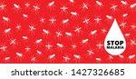 stop malaria no mosquito bite... | Shutterstock .eps vector #1427326685