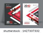 corporate book cover design... | Shutterstock .eps vector #1427337332