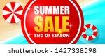 summer sale banner template...   Shutterstock .eps vector #1427338598