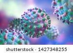 viruses  germs  microbes ...   Shutterstock . vector #1427348255