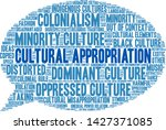 cultural appropriation word... | Shutterstock .eps vector #1427371085