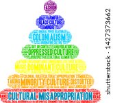 cultural misappropriation word... | Shutterstock .eps vector #1427373662