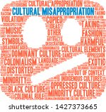 cultural misappropriation word... | Shutterstock .eps vector #1427373665