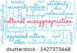 cultural misappropriation word... | Shutterstock .eps vector #1427373668