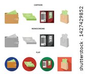 vector design of cash and... | Shutterstock .eps vector #1427429852