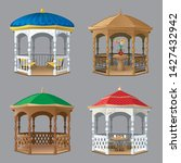 Vector Set Of Images Of Four...