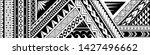 maori style tattoo design. good ...   Shutterstock .eps vector #1427496662
