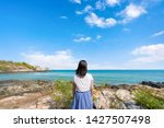 young girl woman female on...   Shutterstock . vector #1427507498