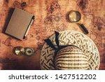 navigation explore of journey...   Shutterstock . vector #1427512202