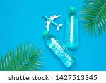 safe travel concept. clear...   Shutterstock . vector #1427513345