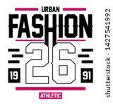 tshirt design text illustration ...   Shutterstock . vector #1427541992