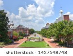 A Panoramic  Summer View Of...