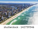 Aerial View Of Gold Coast ...