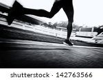 running on the track | Shutterstock . vector #142763566