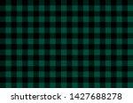 Green Black Lumberjack Plaid...