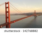 Golden Gate Bridge At Evening....