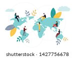 vector colorful illustration of ...   Shutterstock .eps vector #1427756678